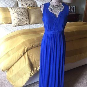 {Spense} 🦋 Cobalt Blue Maxi Dress